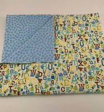 Load image into Gallery viewer, Baby Blanket - Alphabet Babies