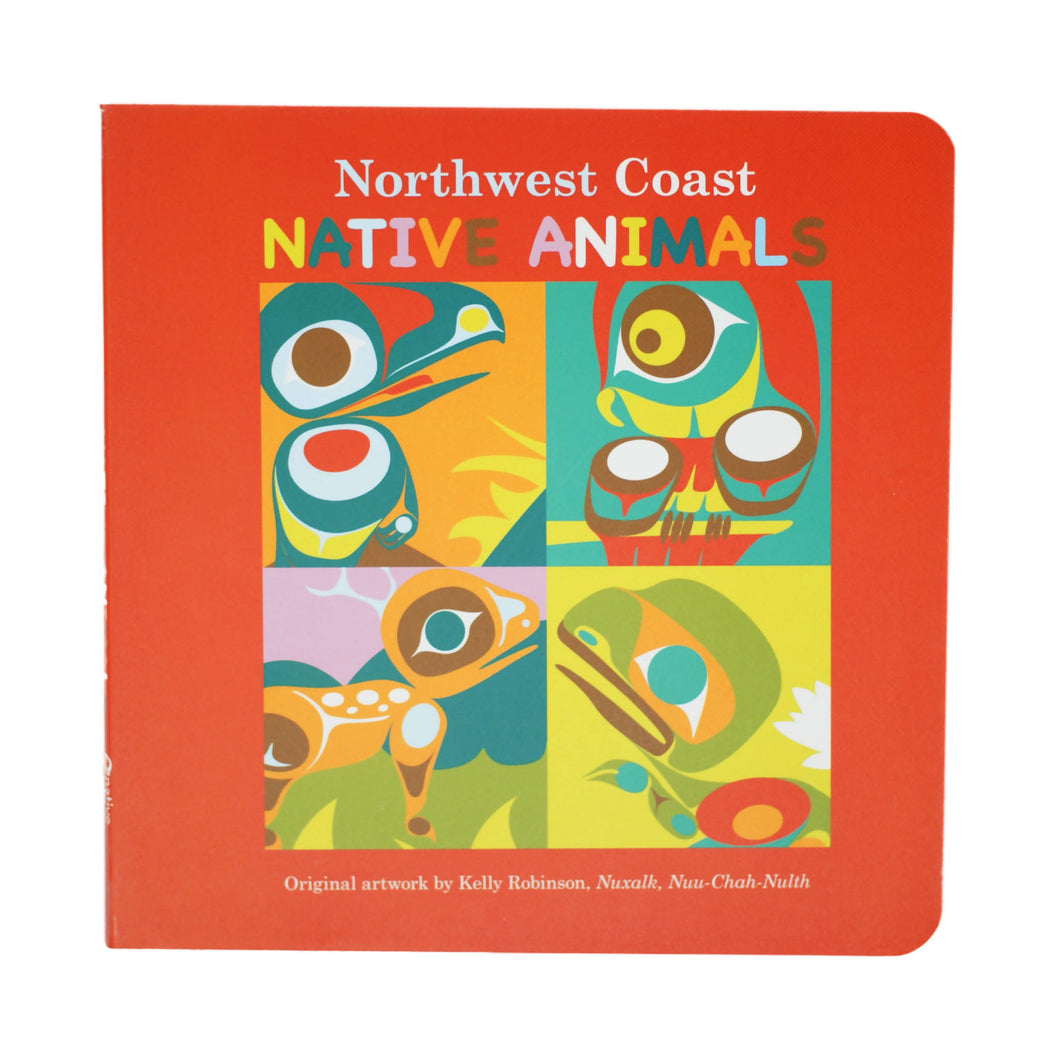 Northwest Coast Animals Board Book
