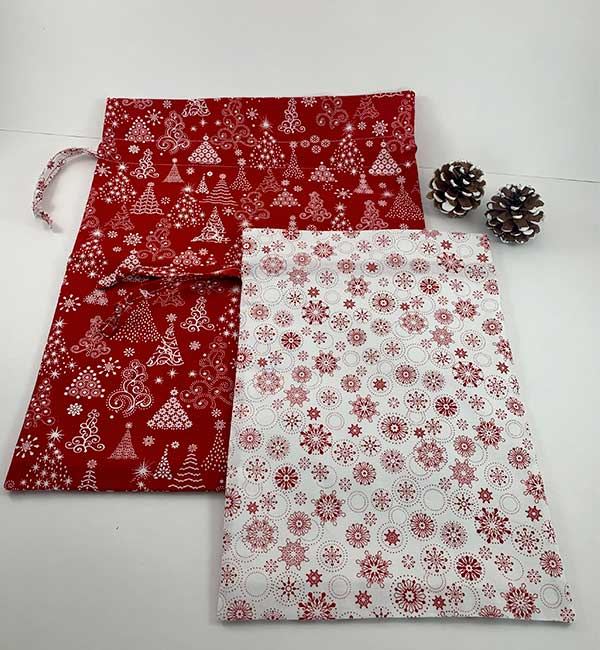 Gift Bags - Snowflakes