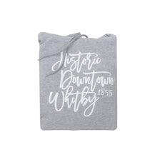 Load image into Gallery viewer, Historic Downtown Whitby Unisex Cotton Hoodie - Black or Grey