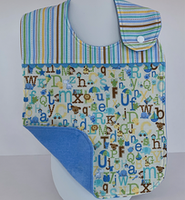 Load image into Gallery viewer, Toddler Bib - Alphabet Babies