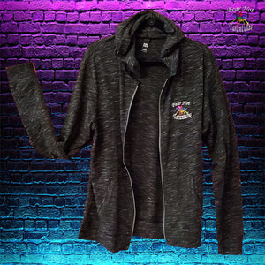 Mens Fear Not Tarantulas Embroidered Hoodie - See sizing chart.