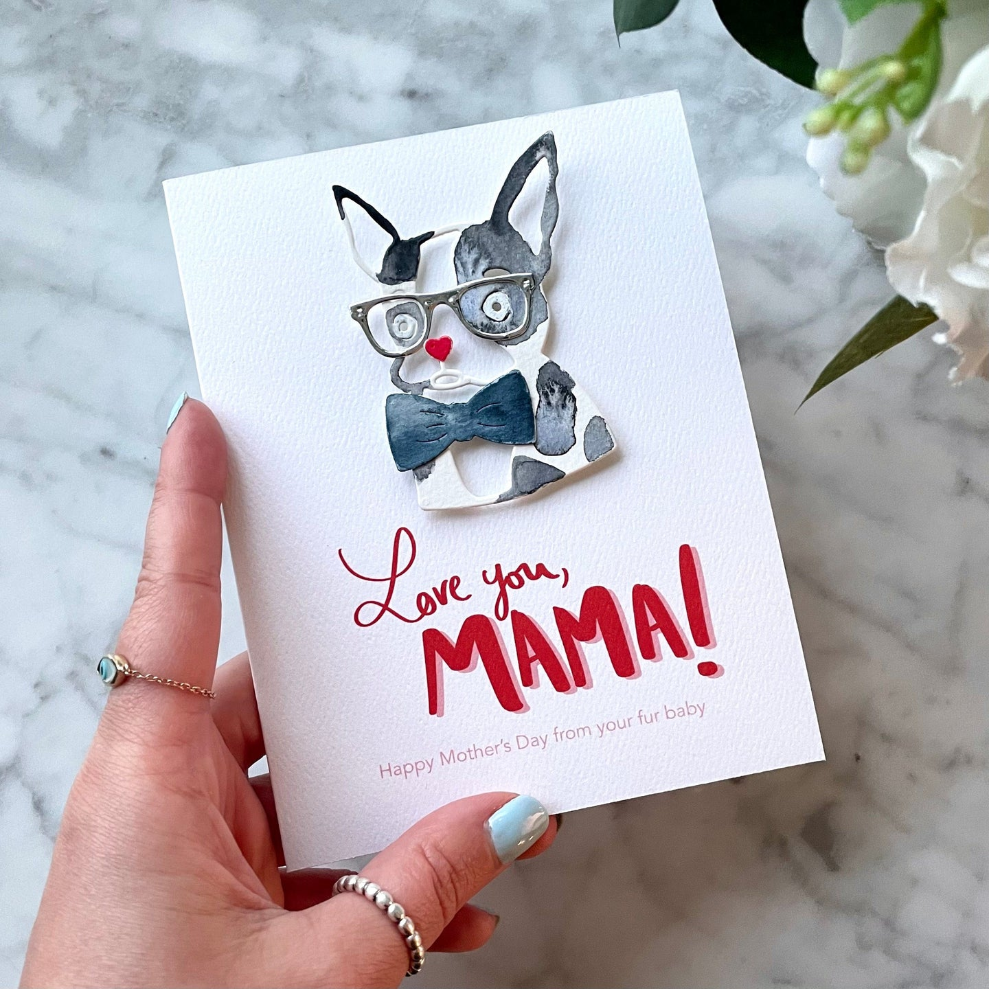 The Frenchie Dog Mom / Dad Card