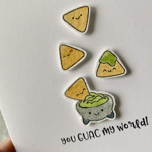 Load image into Gallery viewer, The Guac My World Card