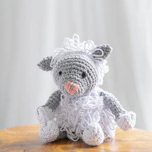 DIY Crochet kit - Lewy Lamb