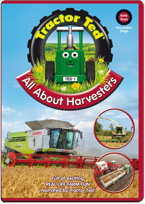 All About Harvesters DVD - Swallow's Nest Crafts