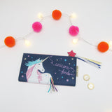 Candy pop Unicorn Wallet - Swallow's Nest Crafts