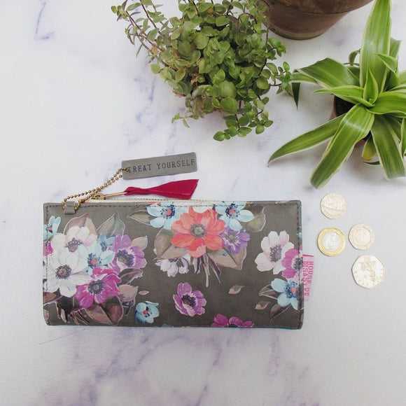 Petal 'treat yourself' Wallet - Swallow's Nest Crafts