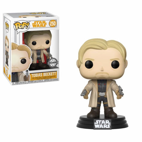 Funko POP Figür - Star Wars Han Solo, Tobias Beckett Limited Edition