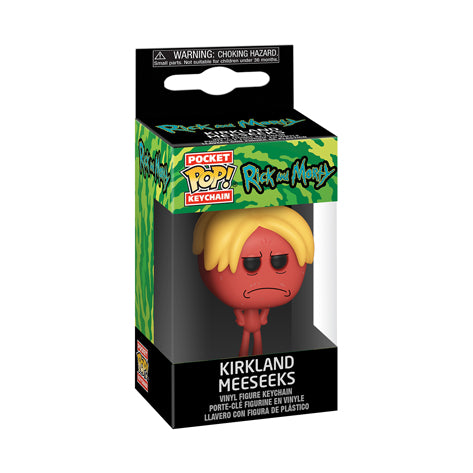 Funko Anahtarlık - Rick and Morty, Kirkland Meeseeks