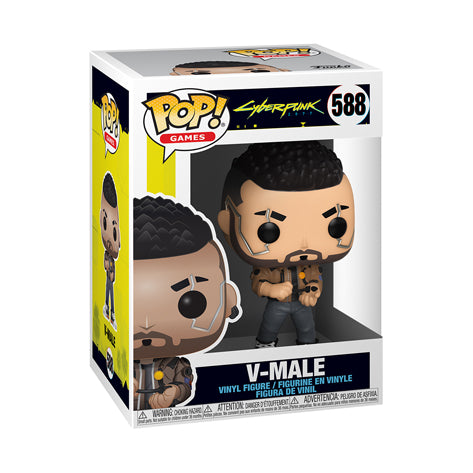 Funko POP Figür - Games: Cyberpunk 2077- V-Male
