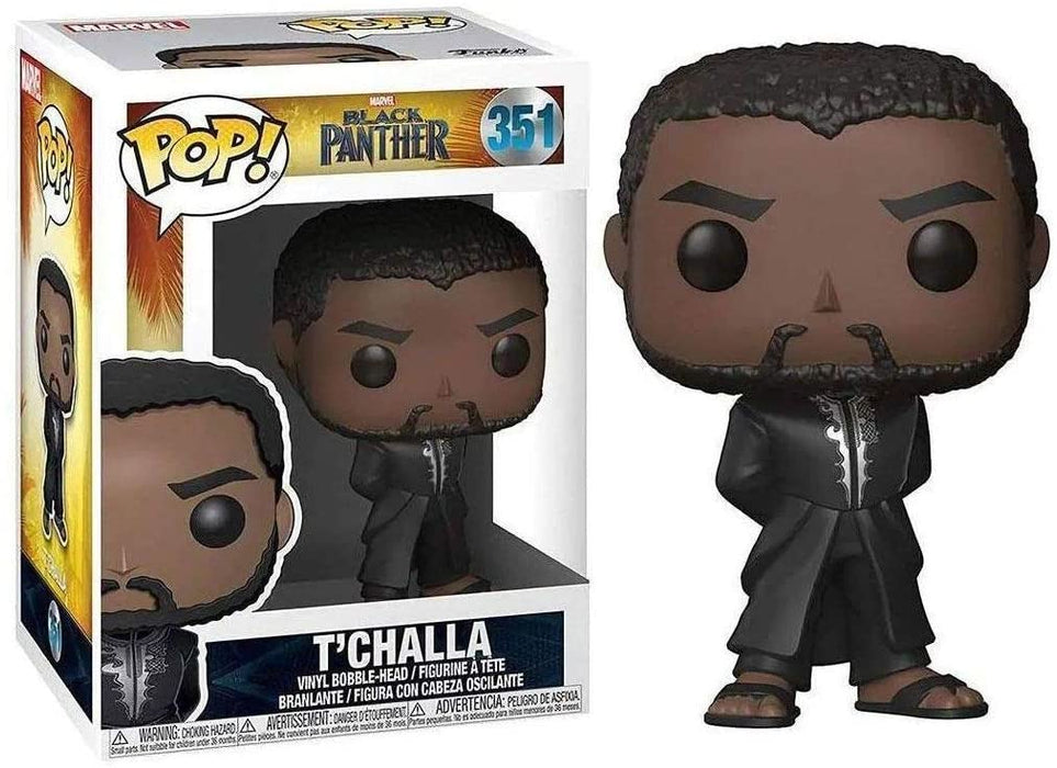 Funko POP Figür - Marvel Black Panther, T'challa with Robe