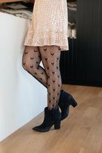 Load image into Gallery viewer, Heart Print Tights