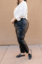 Load image into Gallery viewer, Golden Girl Trousers Black