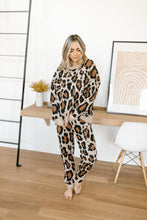 Load image into Gallery viewer, Blaire Lounge Joggers Leopard