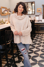 Load image into Gallery viewer, La Borracha Cowl Neck Oatmeal