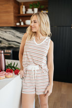 Load image into Gallery viewer, Dito Striped Ribbed Tank
