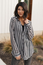 Load image into Gallery viewer, Gingham Winter Top