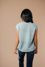 Load image into Gallery viewer, Sweetest Sweater In Antique Blue