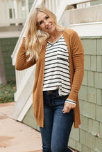 Load image into Gallery viewer, Independent Cardigan Caramel
