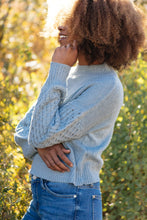 Load image into Gallery viewer, Amelia Detail Sleeve Sweater