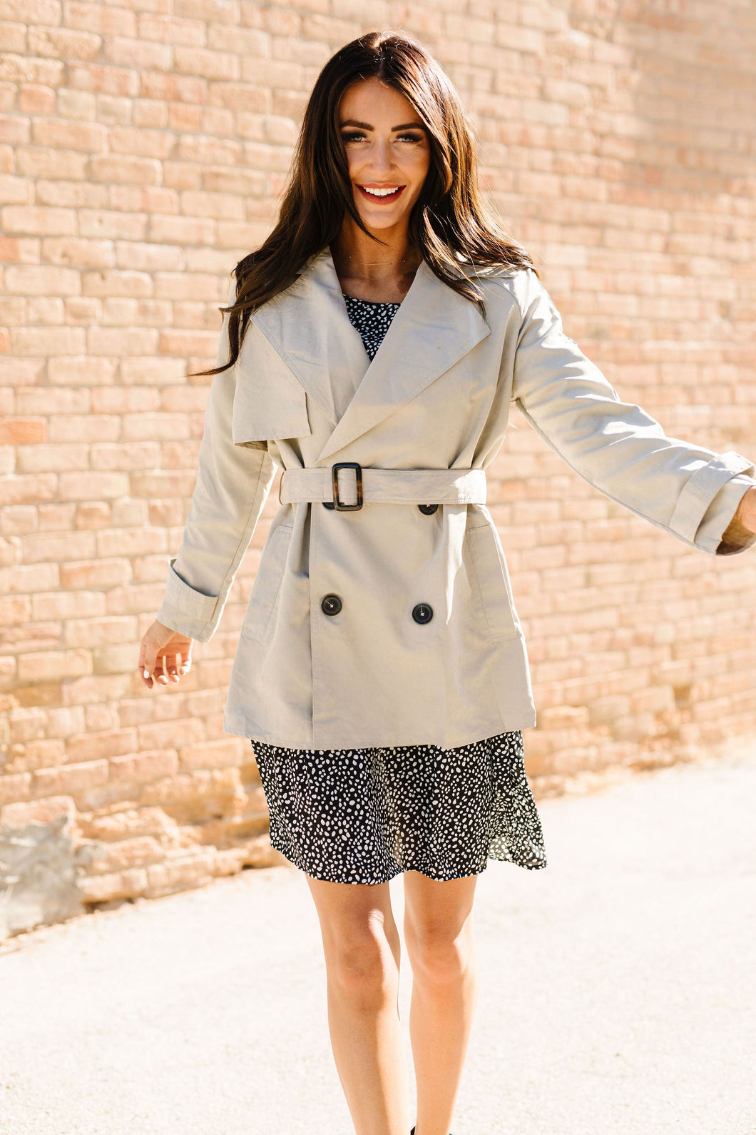Reese Short Trench Coat