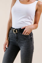 Load image into Gallery viewer, Drea Bling Belt Black