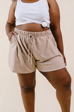 Load image into Gallery viewer, Delanie Drawstring Shorts Mocha