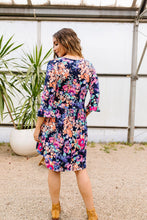 Load image into Gallery viewer, Terrace Garden Dress In Navy