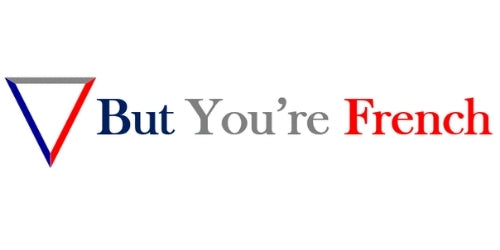 BUT YOU'RE FRENCH - Logo
