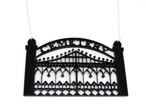 Cemetery Gates Necklace