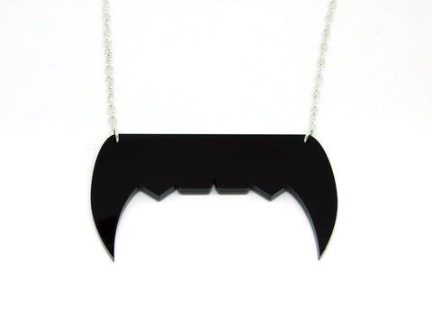 Vampire Teeth Necklace