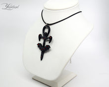 Load image into Gallery viewer, Bat ankh necklace