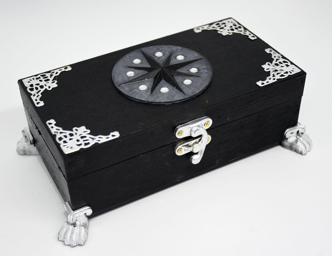 Yennefer inspired jewellery box