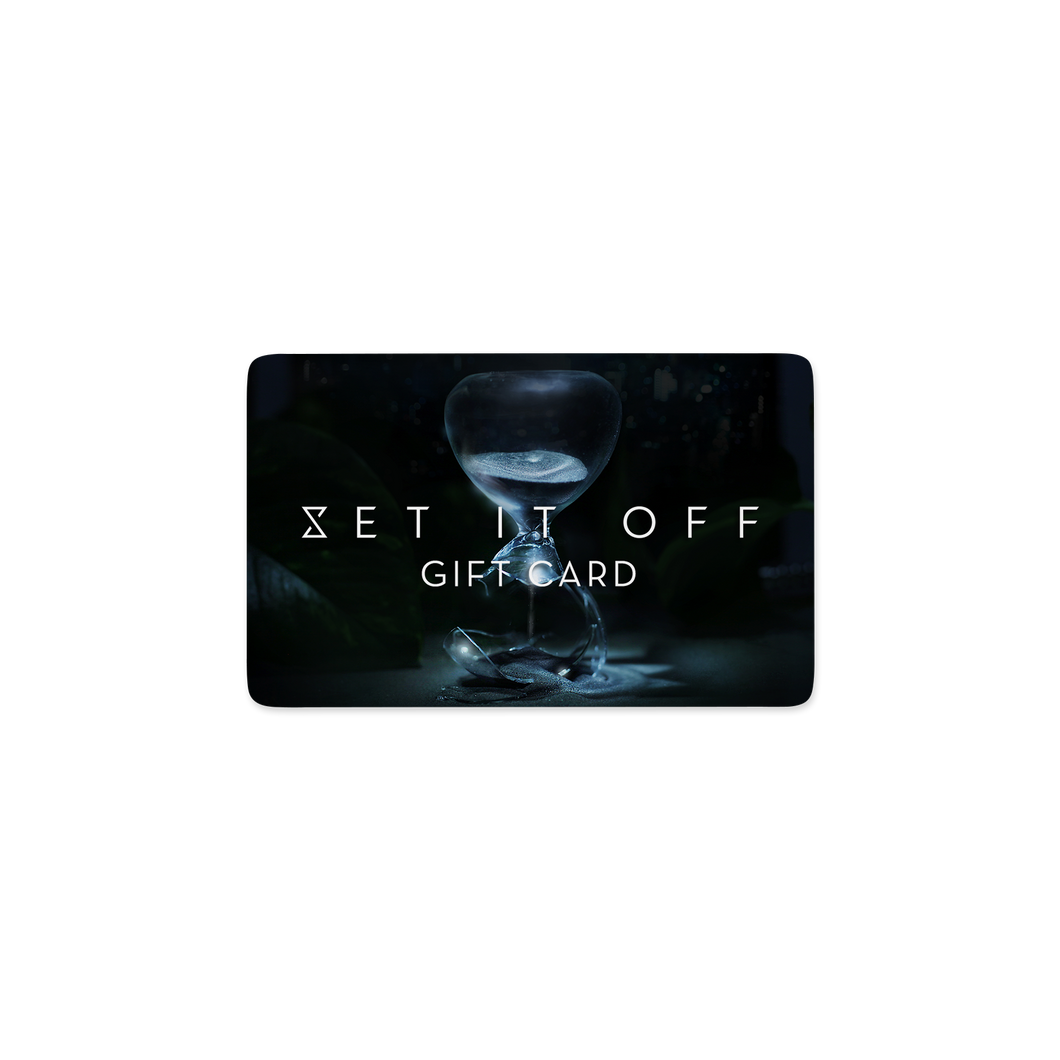 Set It Off Official Merchandise gift card