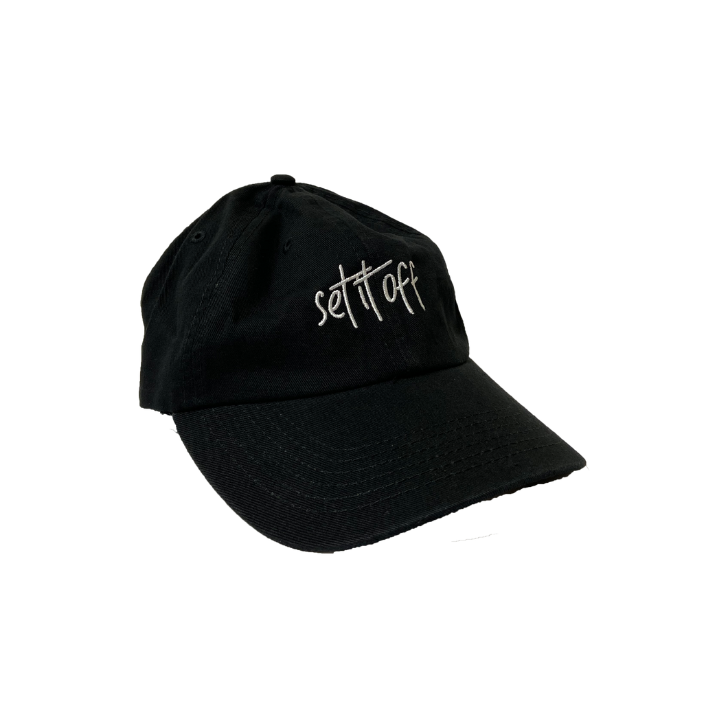 Set It Off Script Logo Hat