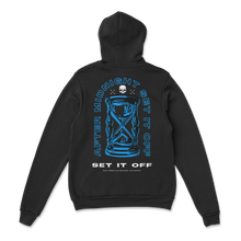 Load image into Gallery viewer, After Midnight Blue Hourglass Hoodie