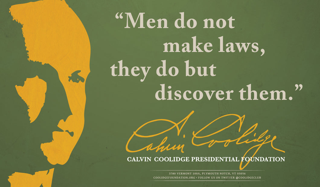 Poster: Men Do Not Make Laws