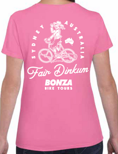 Women's Fair Dinkum Tee Pink