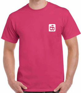 Men's Fair Dinkum Tee Pink