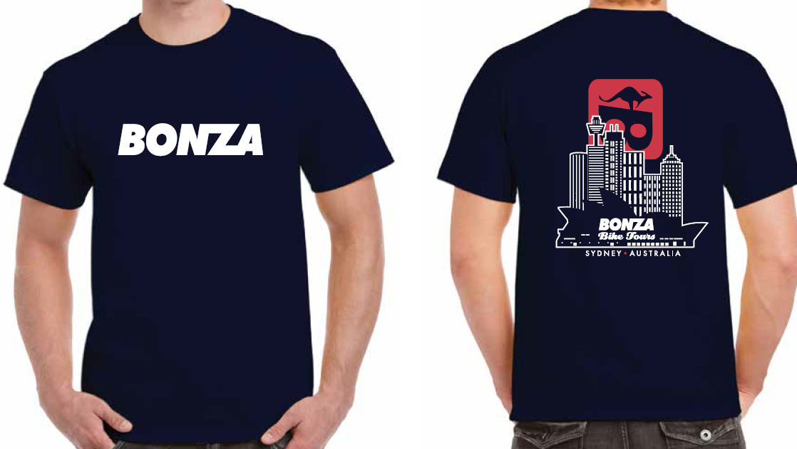 Men's Bonza Tee Navy