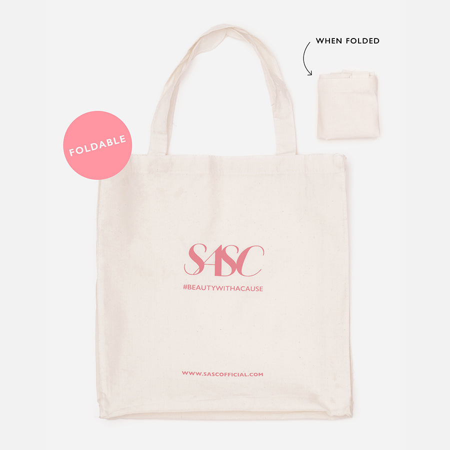 FOLDABLE SASC TOTE BAG