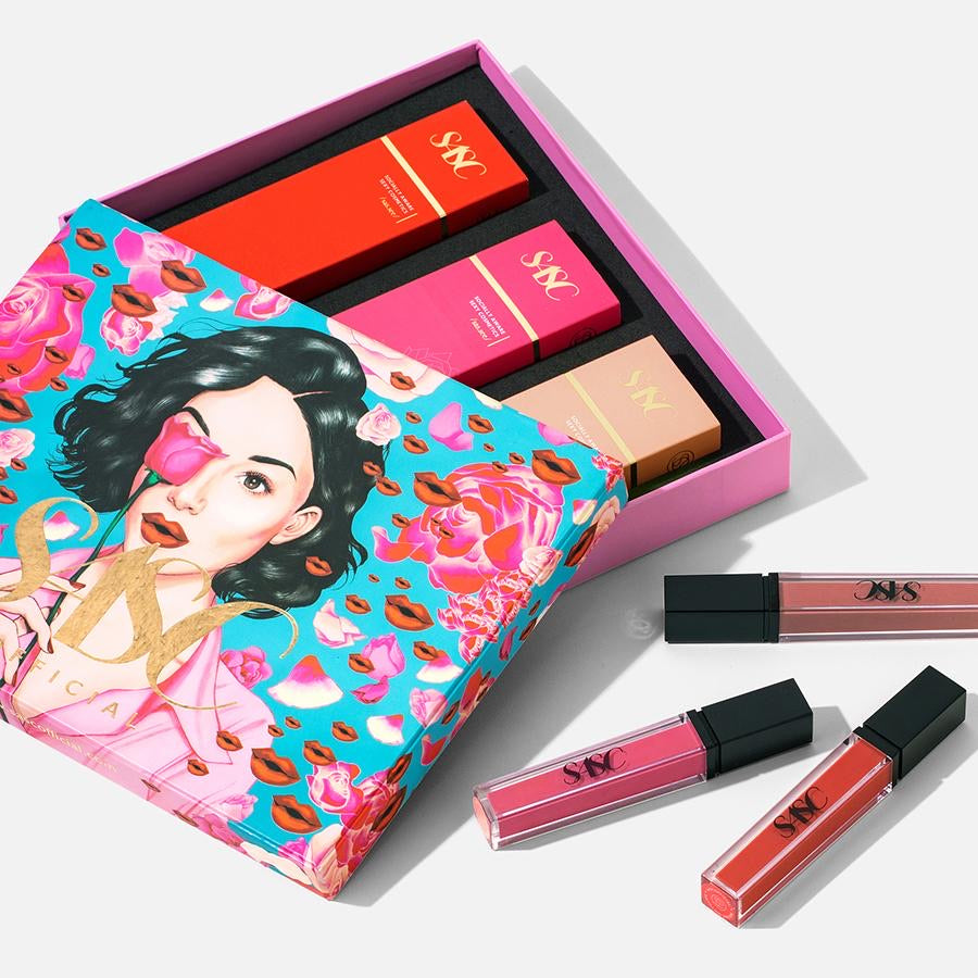 HOLIDAY KISS COLLECTION (CHOOSE 3 ULTIMATTE LIP LIQUID)