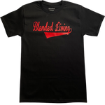 Varsity T-Shirt (Black & Red)