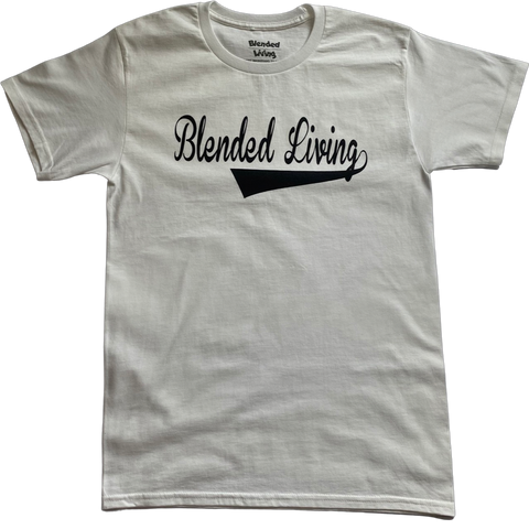 Varsity T-Shirt (White & Black)