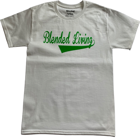 Varsity T-Shirt (White & Green )