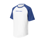Sport-Tek® Youth Short Sleeve Colorblock Raglan Jersey