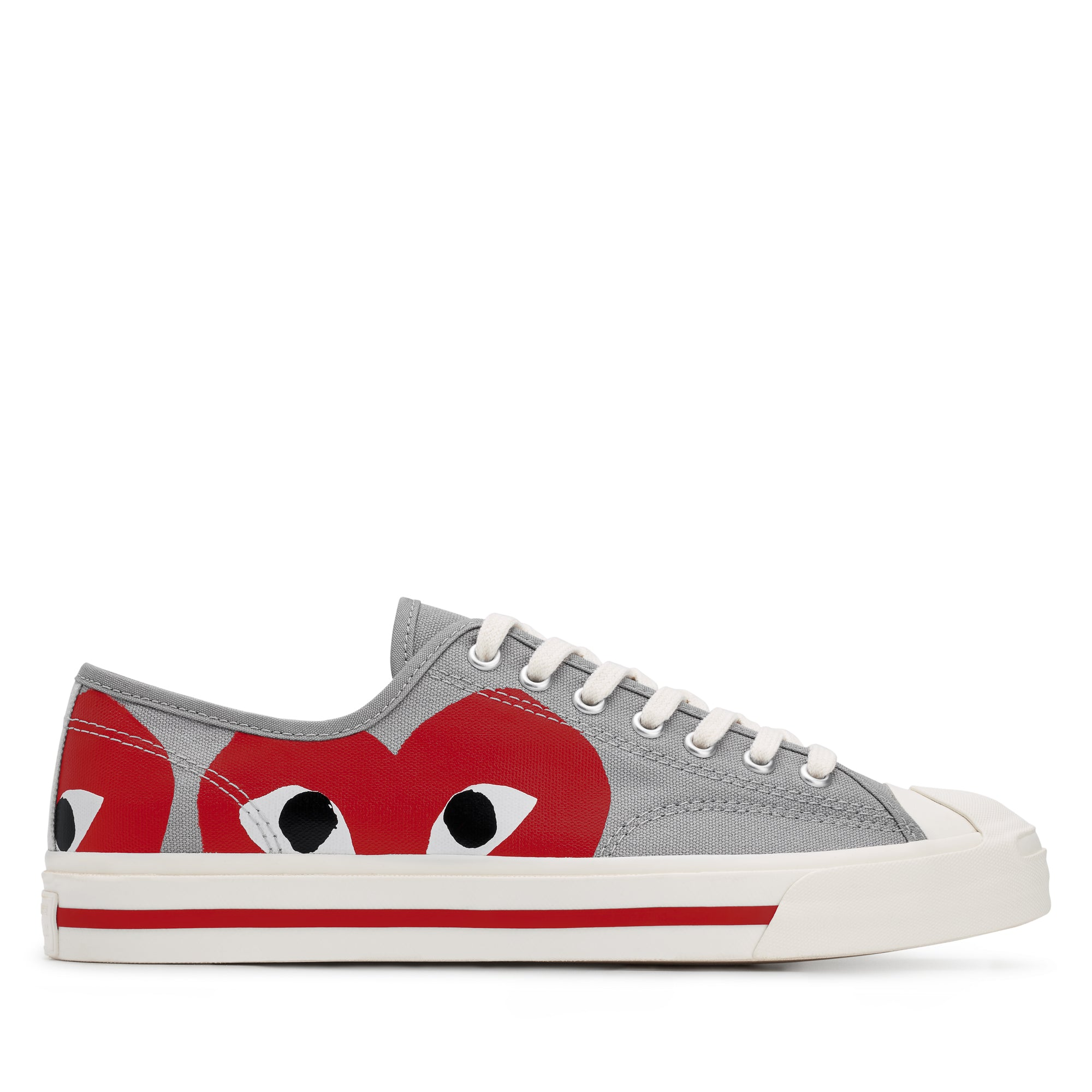 Play Comme des Garçons x Converse Jack Purcell (Red)