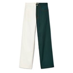 Marni Men's Two Tone Denim (Green/White)