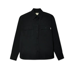 Marni Men's Pocketed Shirt Jacket (Black)